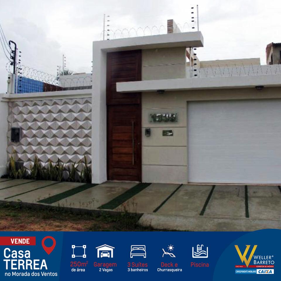 Casa Térrea MODERNA ALTO PADRÃO (Cód. 142)